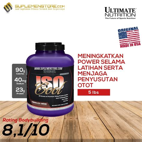 Whey Iso Cool ultimate nutrition iso cool 5 lbs suplemenstore