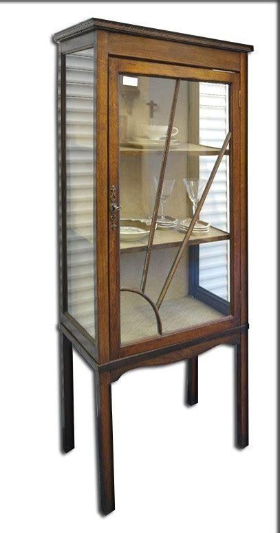 wandschrank auf englisch vitrine eiche massiv englisch um 1900 antik 868 ebay
