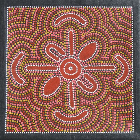 pattern of work meaning intro to art australian aboriginal dot painting