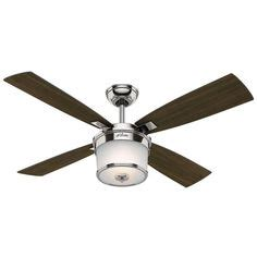 54 contempo led brushed nickel fan with remote led contempo 54 quot ceiling fan brushed nickel finish