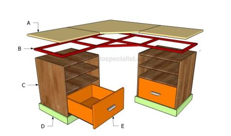 Roll Away Kitchen Island free desk plans how to build a desk