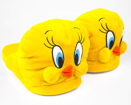 Tweety Bird Slippers Looney Tunes Slippers Bunnyslippers Com