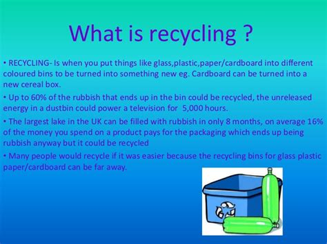 Recycling Powerpoint | recycling powerpoint