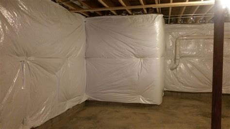 Photo Gallery Of Our Home Improvement Projects Blanket Insulation Basement