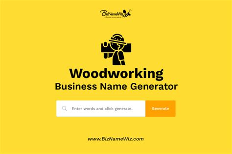 woodworking business  ideas availability check