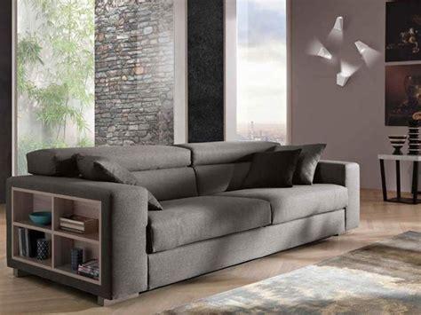 divano angolare con libreria divano con libreria integrata design