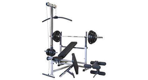 gdib46l powercenter combo bench body solid powercentre combo bench
