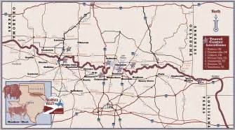 map of oklahoma border river valley