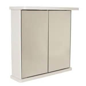 Bathroom Wall Cabinets And Mirrors Bathroom Wall Mirror Cabinet White Door Illuminated