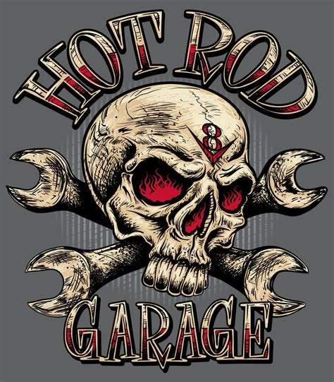 Totenkopf Mit Bart Aufkleber by Image Detail For Hot Rod Skull Rat Rod Hot Rod