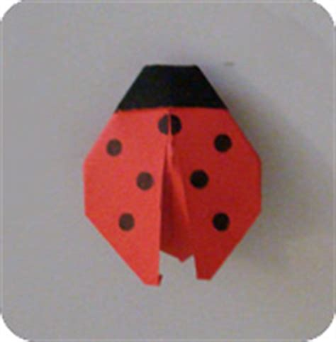 How To Make Paper Ladybugs - how to make a origami ladybug 28 images how to make an