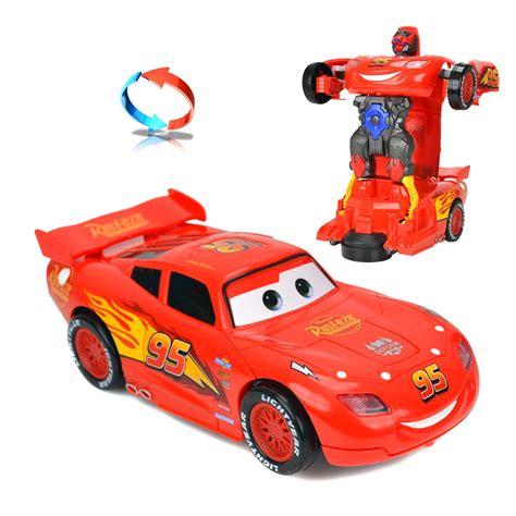 cars simsek mcqueen kirilmaz oyuncak robot doenuesen araba