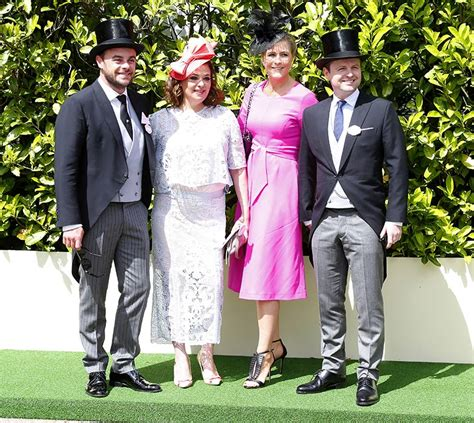 ant and dec in high spirits as they attend royal ascot
