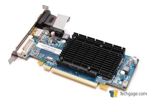Vga Card Radeon Hd 5450 techgage image sapphire radeon hd 5450 512mb