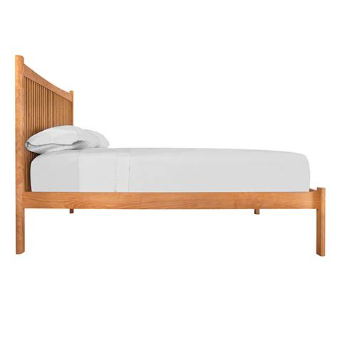 Footboard Bed by Modern Shaker Low Footboard Platform Bed Made In The Usa
