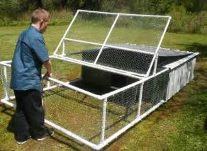 Backyard Dog Pens free pvc chicken tractor plans