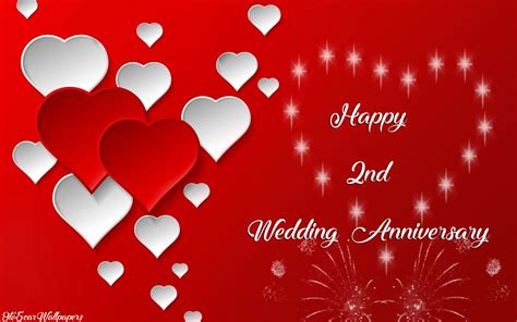 2nd Anniversary Wedding by Second Marriage Anniversary Images Downloads