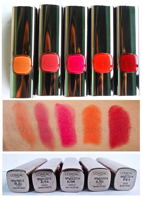 Loreal Color Riche Moist Matte Lipstick kikaysimaria loreal color riche moist matte lipsticks
