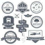 special ops patch set stock vector illustration of gray