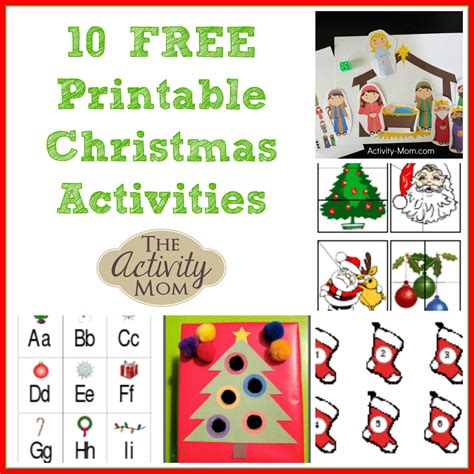 printable christmas counting games the activity mom 10 free printable christmas activities
