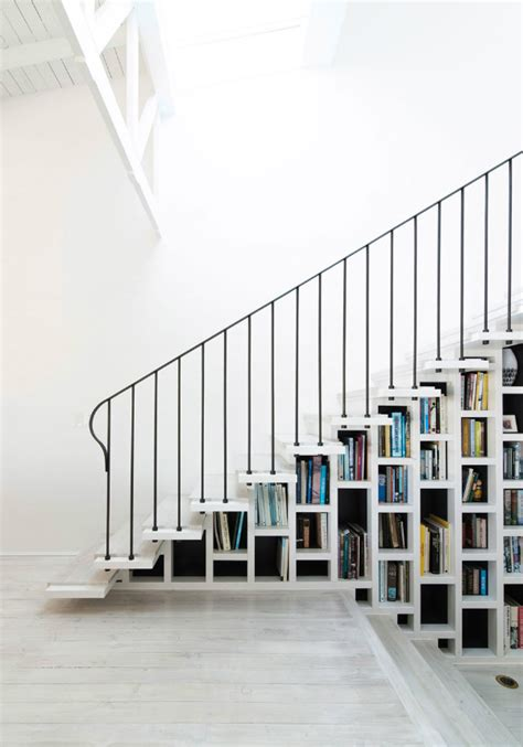 built in bookshelves stairs the pairing that is shelves and stairs mocha