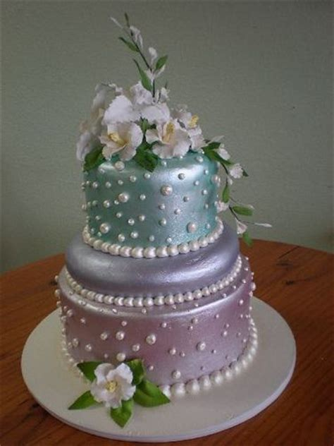 wedding cake aqua blue 25 best ideas about lovely cakes on ribbon