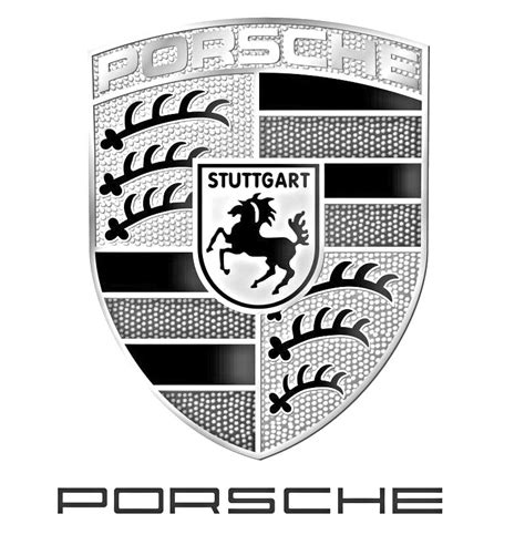 porsche logo black and white need hi rez porsche badge outline pelican parts