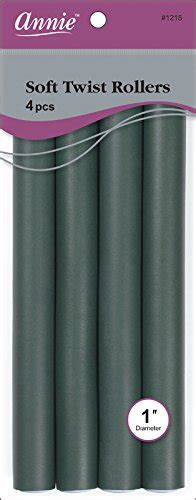 how to use soft twist rollers on senegalese twist annie soft twist rollers dark green 4 count buy online
