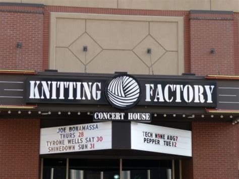 Knitting Factory Concert House knitting factory concert house