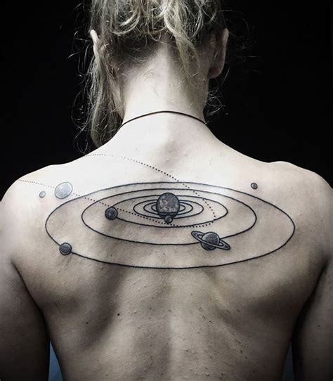 45 space tattoo ideas for astronomy lovers designbump