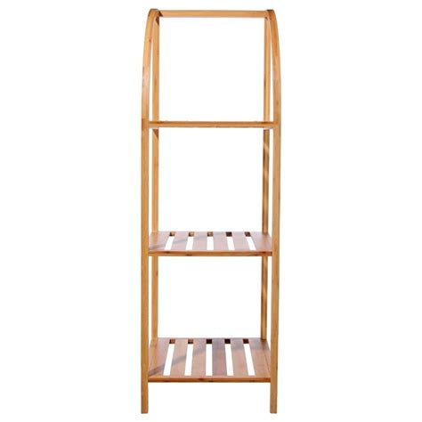 Meuble A Etagere 1703 by 201 Tag 232 Re Arqu 233 E 224 3 233 Tages En Bambou Veo Shop