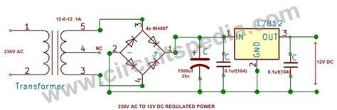12v Rectifier Circuit Diagram