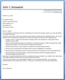 Process Engineer Cover Letter process engineering cover letter resume downloads