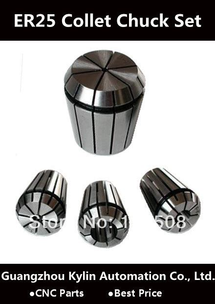 best price 16pcs er25 collet chuck set from 1mm to
