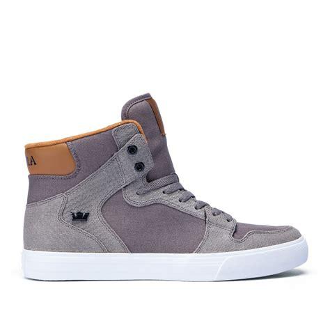 fashion supra vaider mens high tops shoes morel cathay