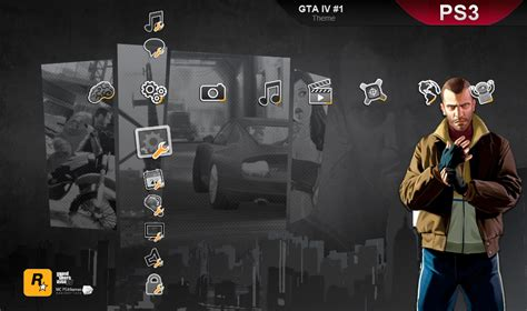 ps3 themes hd gta 5 gta iv ps3 theme by m23creations on deviantart