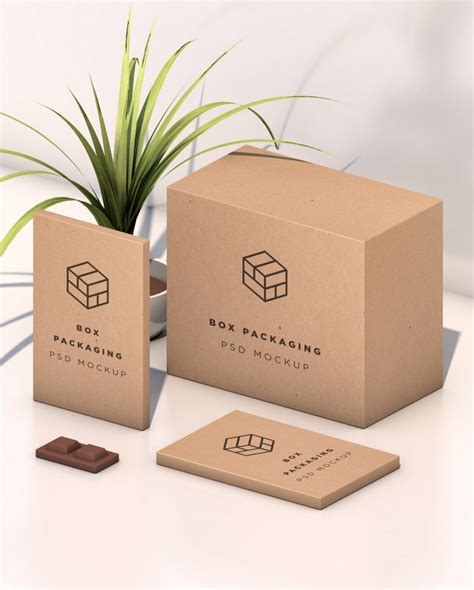 Takeaway Website In A Box Sets You Up With Everything You Need To Start An Shop by Isometric Box Mockup Psd Bypeople