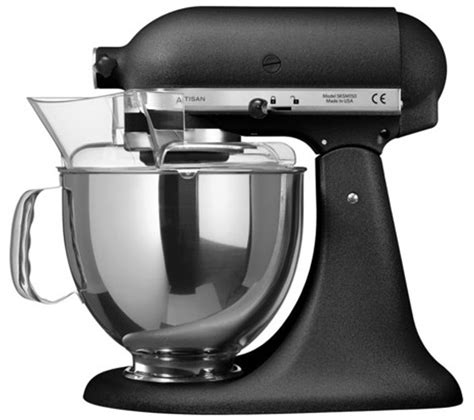 kitchenaid black mixer buy kitchenaid 5ksm150psbbk artisan stand mixer black