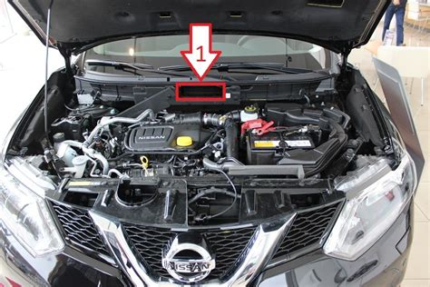 nissan x trail 2014 2015 vin location where is