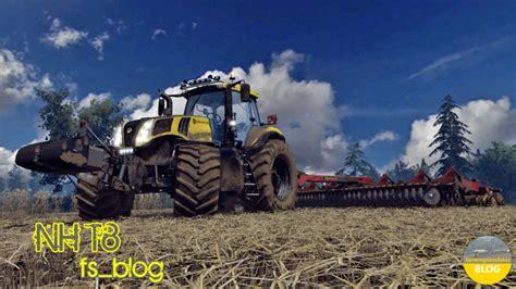 t8 u ls nh t8 v 1 1 tractor farming simulator 2015 15 ls mod