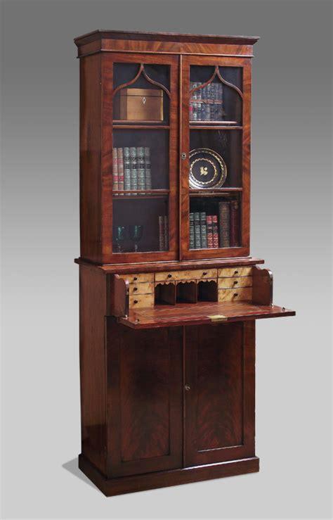 Antique secretaire bookcase, victorian secretaire bookcase