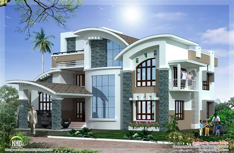 Mix Luxury Home Design Kerala Home Design Architecture House Plans Mix