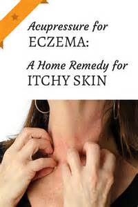 how to use acupressure for eczema a home remedy for itchy