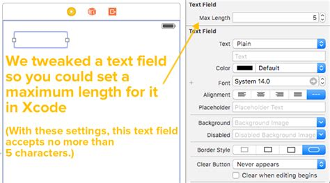 xcode text field layout swift kick global nerdy joey devilla s mobile tech blog