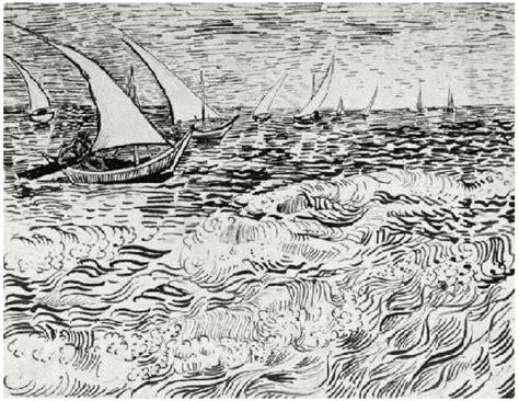 boat drawing sea fishing boats at sea by vincent van gogh 945 drawing