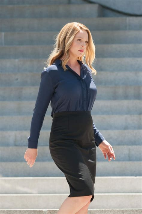 katherine heigl katherine heigl on the set of doubt tv show in los