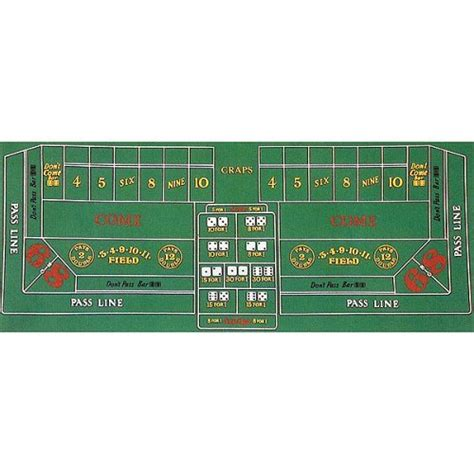 craps table dimensions trademark craps layout 36 inch x 72 inch ebay