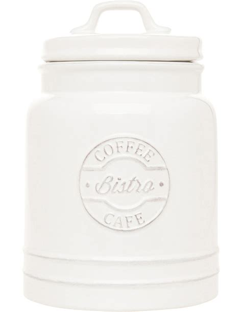heritage provincial ceramic coffee canister