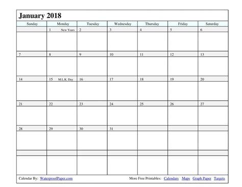 printable calendar 2018 with lines printable calendar 25 free professional calendar