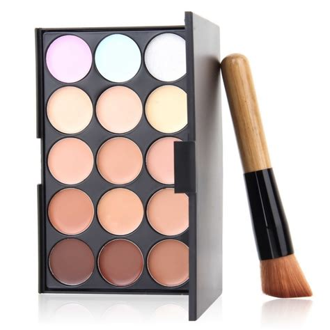 1 Set Makeup Viva 1set professional cosmetic 15 colors contour palette